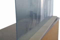Barriere-in-Plexiglass