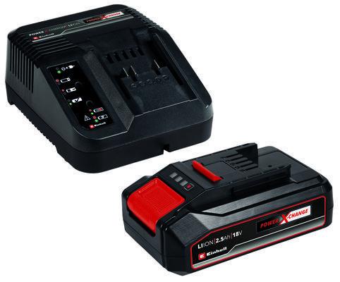 Kit batteria e caricabatteria 2,5Ah Power X Change Einhell Image