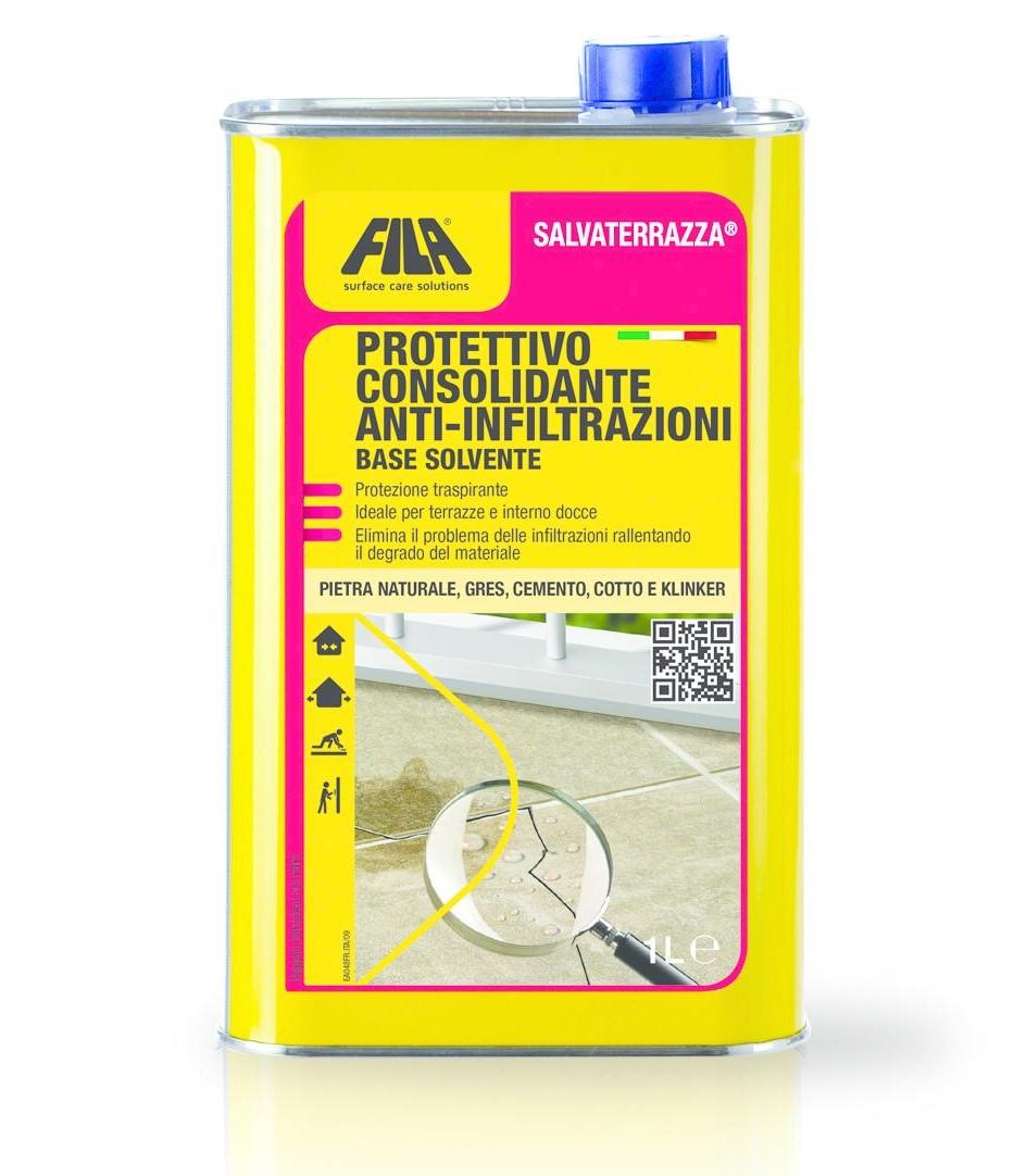 Idrorepellente anti infiltrazione consolidante Salvaterrazza Fila Image