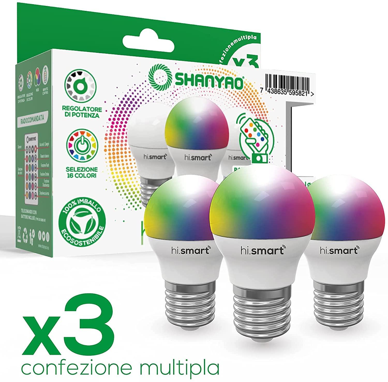 SHANYAO LAMPADINA GOCCIA A LED HI.SMART 5W Image