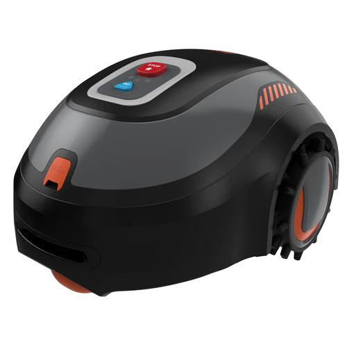 Robot tosaerba Cordless Black+Decker con sistema automatico di pulitura Image