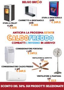Offerta Elettrodomestici Caldo Freddo Varese