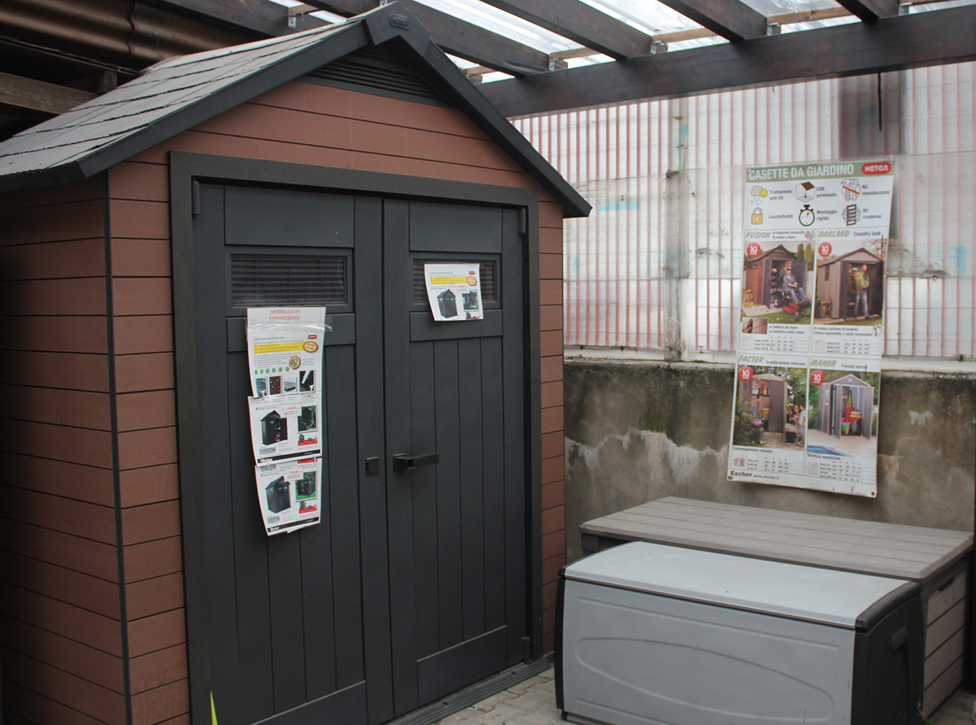 Giardino ed esterno belgo
